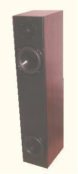 VIA 140 – kolumny podłogowe konstrukcja bas-reflex z tyłu
